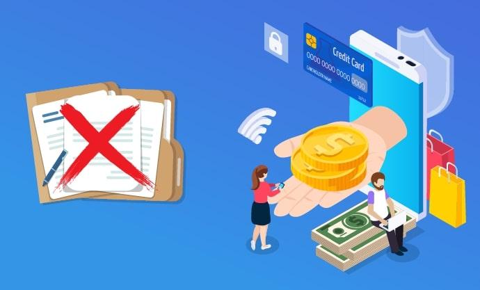 credit sans documents